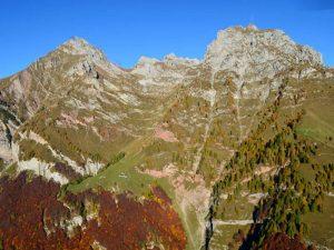 La Val del Grisol e il rifugio Pian de Fontana